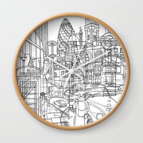 London! Wall Clock