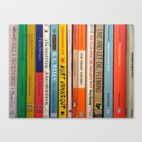 literature Canvas Prints featuring Literature by Vanessa Flores