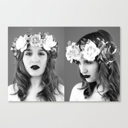 Wayward Girl, 2.0 Canvas Print
