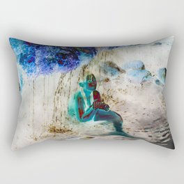 Mermaid: Front Rectangular Pillow