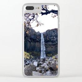 Svartifoss Clear iPhone Case