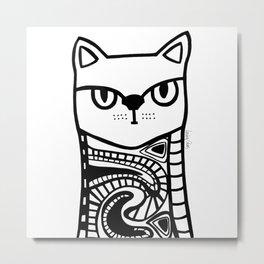 Nive Lives of a Cat Metal Print