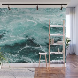 Water Photography | Sea | Ocean | Pattern | Abstract | Digital | Turquoise Wall Mural