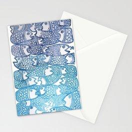 Peixinho azul Stationery Cards