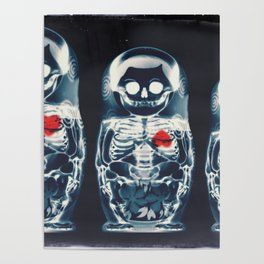 Nesting Doll X-Ray Poster