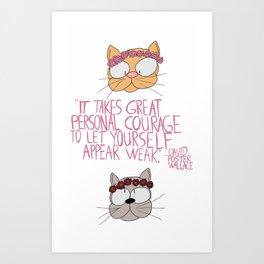 Infinite Cats Art Print