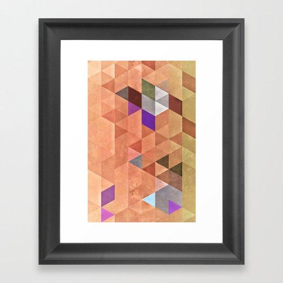 byrdy Framed Art Print