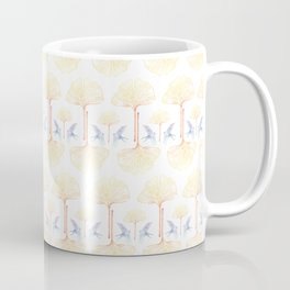 Ginkgo Gradient (white) Coffee Mug