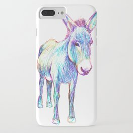 Colourful Donkey iPhone Case