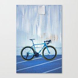 Ritte Ace Tricolor Blue Canvas Print