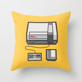 Retro Memories Throw Pillow