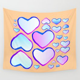 Coeur douceur Wall Tapestry