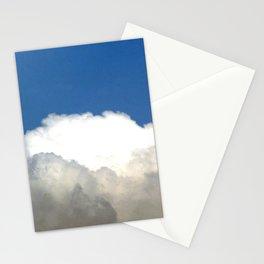 Grey Clouds Blue Sky Stationery Cards