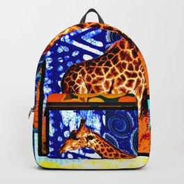 African Giraffe Love Backpack