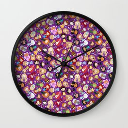 So Many Lil' CutiEs Wall Clock