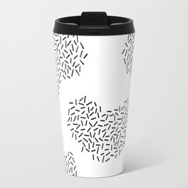 Striped Amoeba Travel Mug