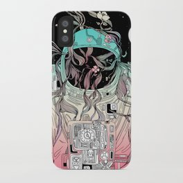 Life is Invading My Space iPhone Case