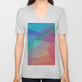 Innovation Background with Succesful Evolving Company Concept Unisex V-Neck