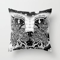 universe Throw Pillows featuring UNIVERSE by • PASXALY •