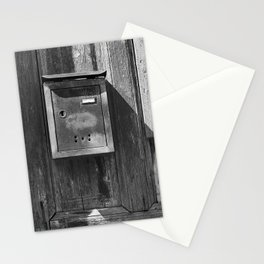 Mailbox in the sun Stationery Cards