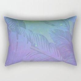 Rainbow in Palms Rectangular Pillow