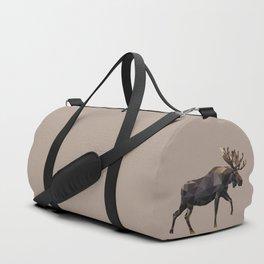 Polygon geometric Moose Duffle Bag