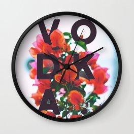 Vodka Wall Clock
