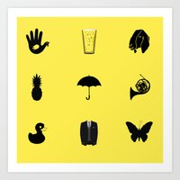 how i met your mother Art Prints featuring How I Met Your Mother by George Hatzis