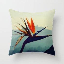 Portrait of Paradise Throw Pillow