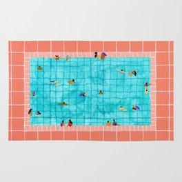 Coral Pool Rug