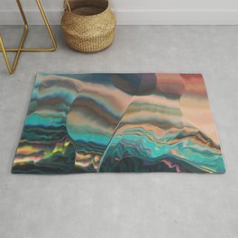 Northern light passing thru Rug