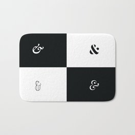 For the Love of Ampersand #1 Bath Mat