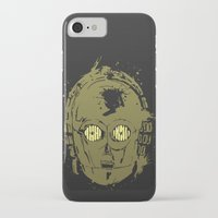 c3po iPhone & iPod Cases featuring C3PO by Peyeyo
