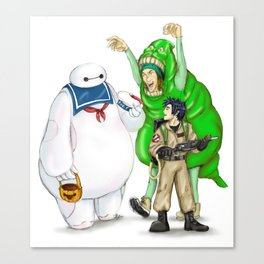 Stay Healthy, Stay Puft Canvas Print