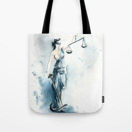 Lady Justice Tote Bag