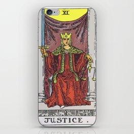 11 - Justice iPhone Skin