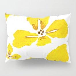 Yellow Iris Pillow Sham
