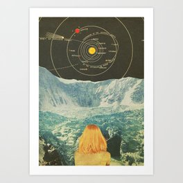 Orbitando  Art Print
