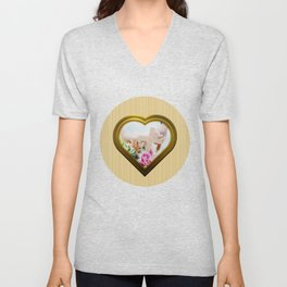 In Love Again - Encore en Amour Unisex V-Neck