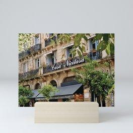 Casa Nicolasa Mini Art Print
