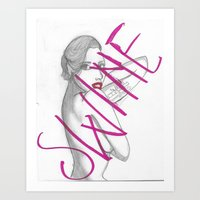 SWINE Art Print