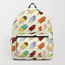 Meet me at the ice cream truck Backpack