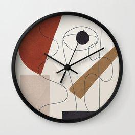 Abstract Minimal Shapes 29 Wall Clock