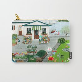 Purr-fect Blooms Carry-All Pouch
