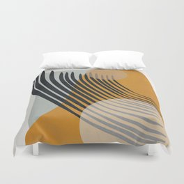 Abstract Shapes 33 Duvet Cover