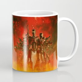 In The Heat Of Battle Coffee Mug