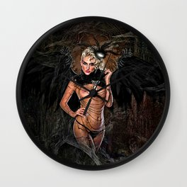 ALLURE OF THE VAMPIRE Wall Clock