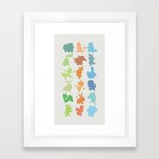 The Starters Framed Art Print
