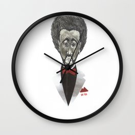 Mr. Lips Wall Clock