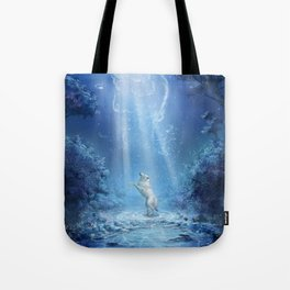A wolf's tale Tote Bag